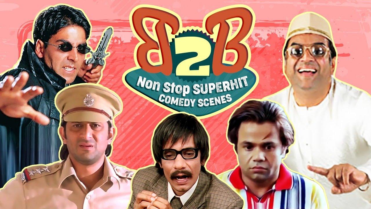 Download Back 2 Back Comedy Scenes |  Akshay Kumar - Paresh Rawal - Johny Lever - Vijay Raaz -Arshad Warsi