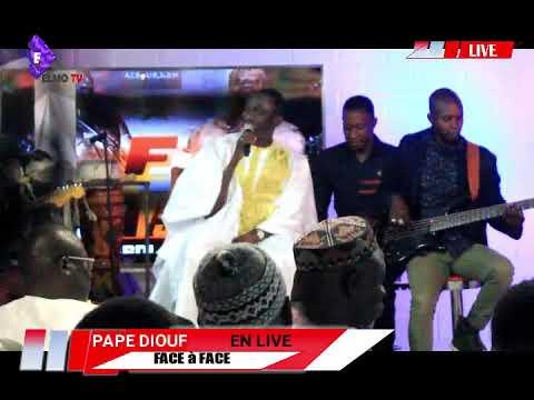 Pape Diouf Chante Wally Seck Sur  Face à Face Boye Niang VS Lac De Guère 2
