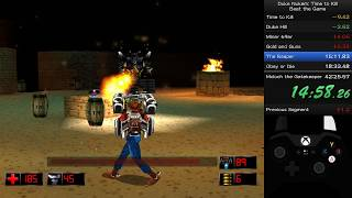 Duke Nukem:Time to Kill Speedrun (37:52 IGT/42:32 RTA)