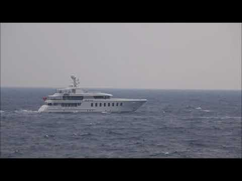The 45m/ 147.64ft F45 Vantage motor yacht Bella Vita