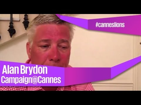 Alan Brydon - Networking at Cannes