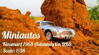 Kinsmart 1963 Astonmartin Db5 Scale 1 38 Youtube
