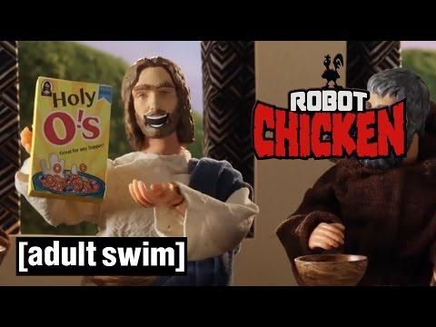 Jesus' Best Robot Chicken Moments  Robot Chicken  Adult Swim
