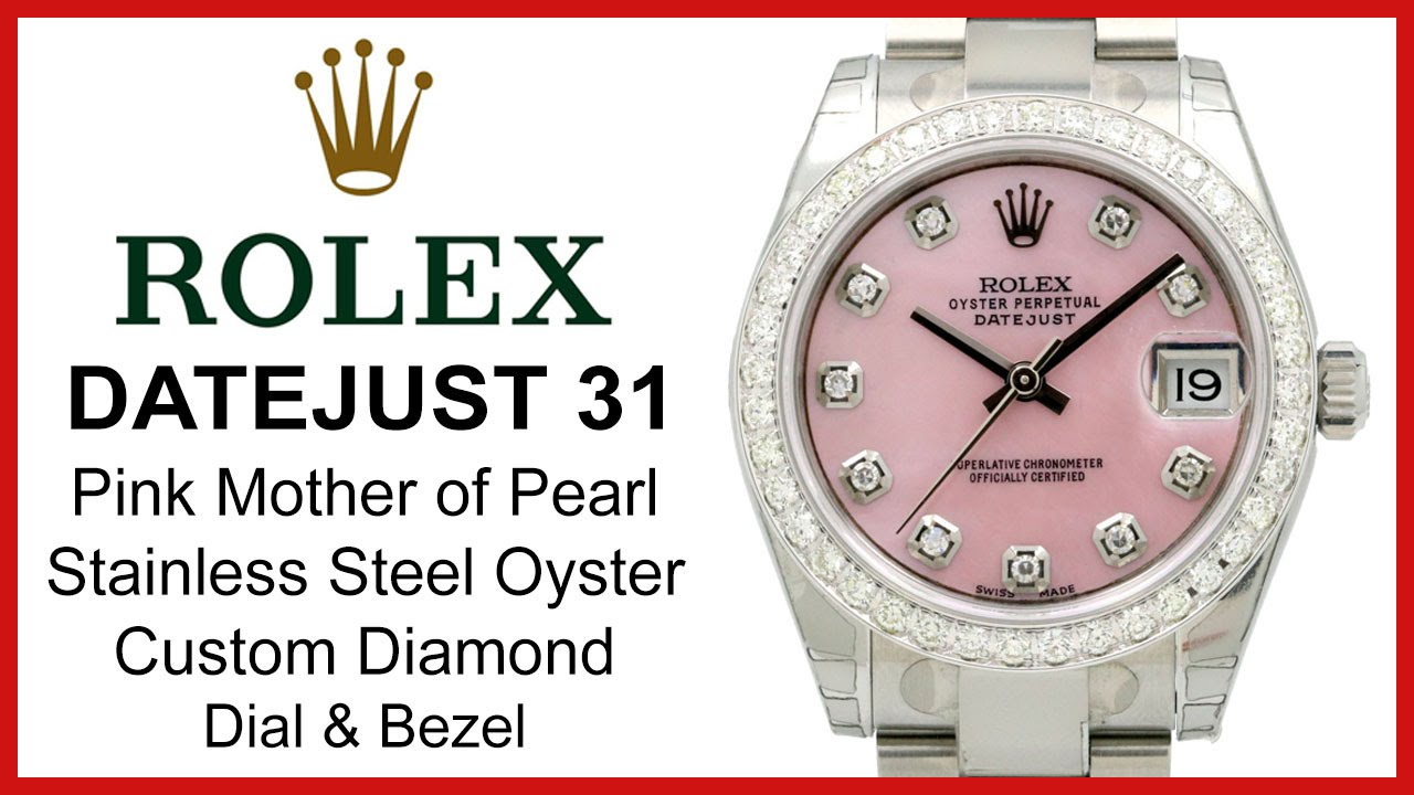 f5925f9e7b8 Rolex Datejust 31 Ladies Midsize