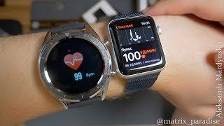 No.1 DT28 SmartWatch - китайські розумні годинник з вимірюванням ЕКГ і тиску за 30$! НОВІТНІЙ ПРОТОТИП!