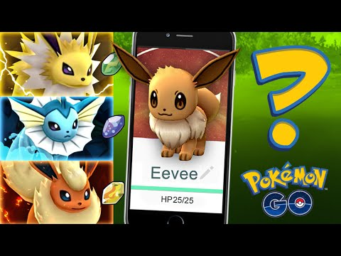 Pokemon GO - EEVEE EVOLUTION SECRET! (GET THEM ALL) - YouTube