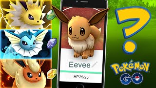 Pokemon GO - EEVEE EVOLUTION SECRET! (GET THEM ALL)