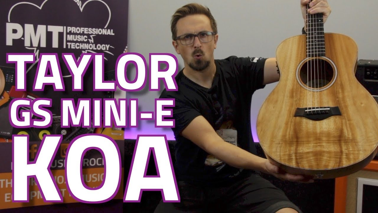 taylor gs mini e koa travel electro acoustic review demo youtube. Black Bedroom Furniture Sets. Home Design Ideas
