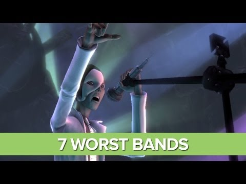 The 7 Worst Bands in Videogames (That Are Successful Somehow)
