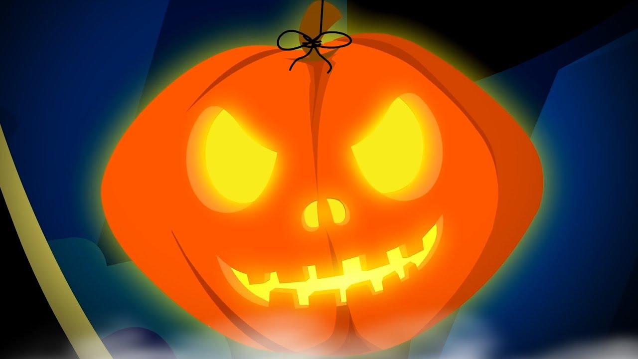 Jack O'Lantern | Vídeos de halloween para crianças | Canção infantil | Desenhos animado