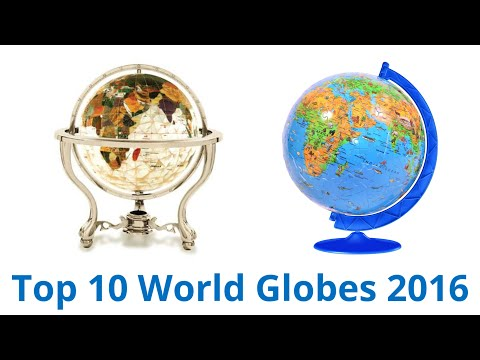 10 Best World Globes 2016