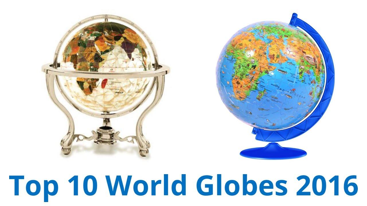 10 Best World Globes 2017