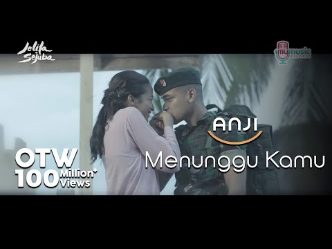 ANJI - MENUNGGU KAMU (OST. Jelita Sejuba ) (Official Music Video + Lyrics)