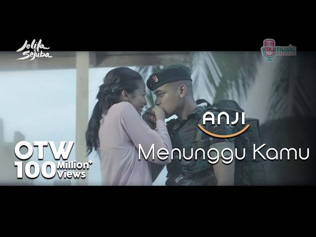 ANJI - MENUNGGU KAMU (OST. Jelita Sejuba ) (Official Music Video + Lyrics)
