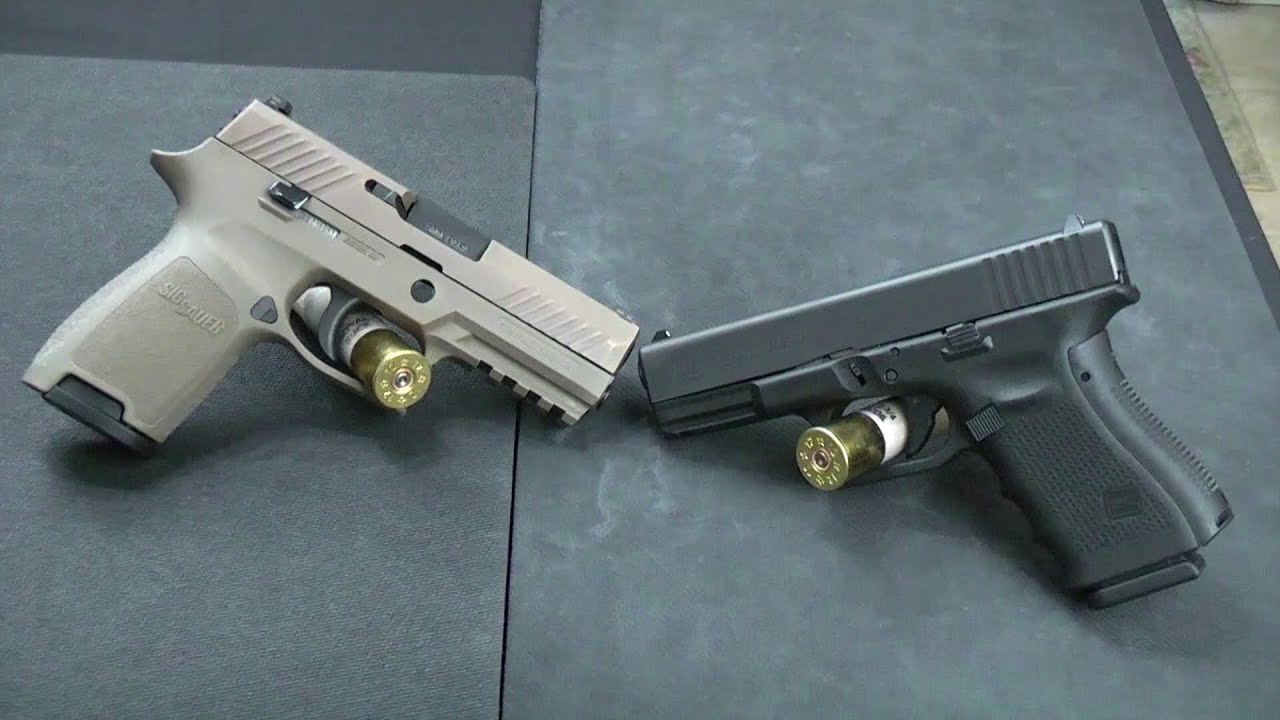 Which Is Better: Sig P320 Vs Glock 19? - Alien Gear Holsters