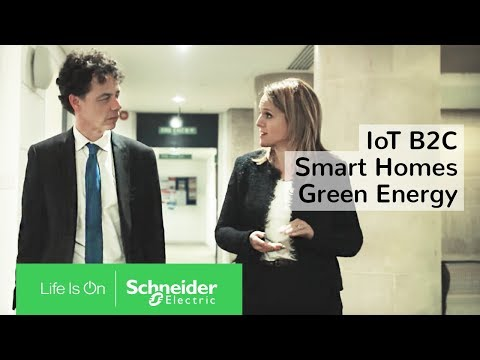 IoT Renewable Energy: Green Energy & Smart Homes (B2C) | Schneider Electric