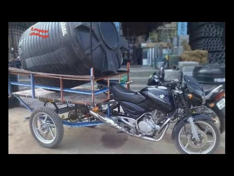 Indian Innovative Jugaad With Motorcycle 2018