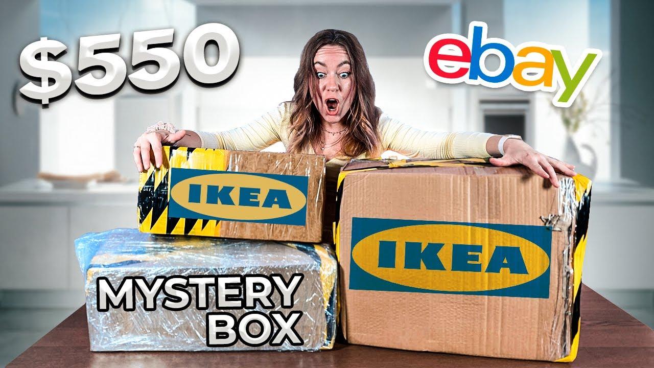открываю ИКЕА MYSTERY BOX за 550$ купленный на EBAY !