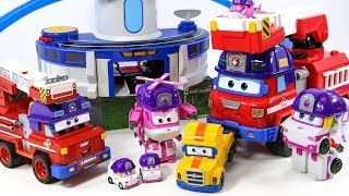 Super wings base was on fire. Rescue team dispatch! Rocky save your friends