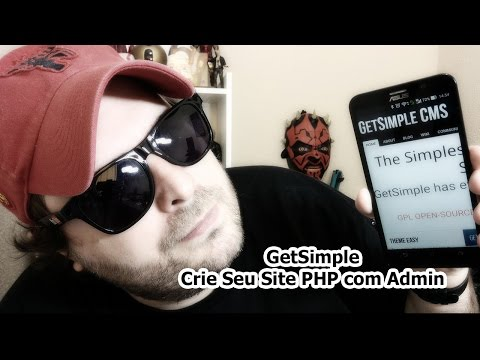 GetSimple CMS - Crie Sites PHP com Administração sem BD