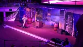Disney cruise pirates of the Caribbean show