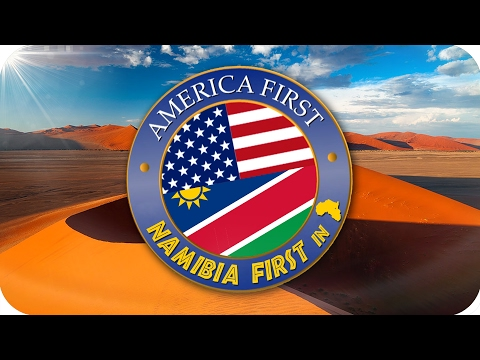 America First NAMIBIA FIRST NOT SECOND  Response to the Netherlands Trump welcome video