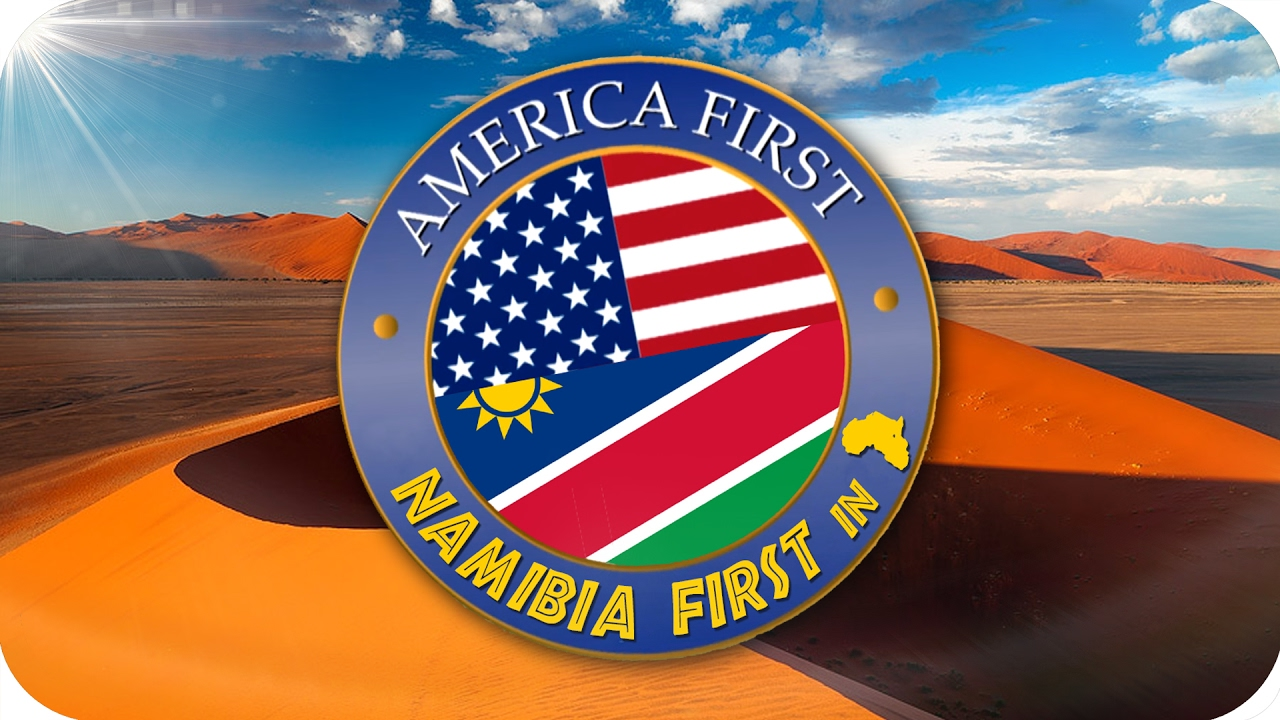 America First /NAMIBIA FIRST (NOT SECOND) | Response to the Netherlands Trump welcome video