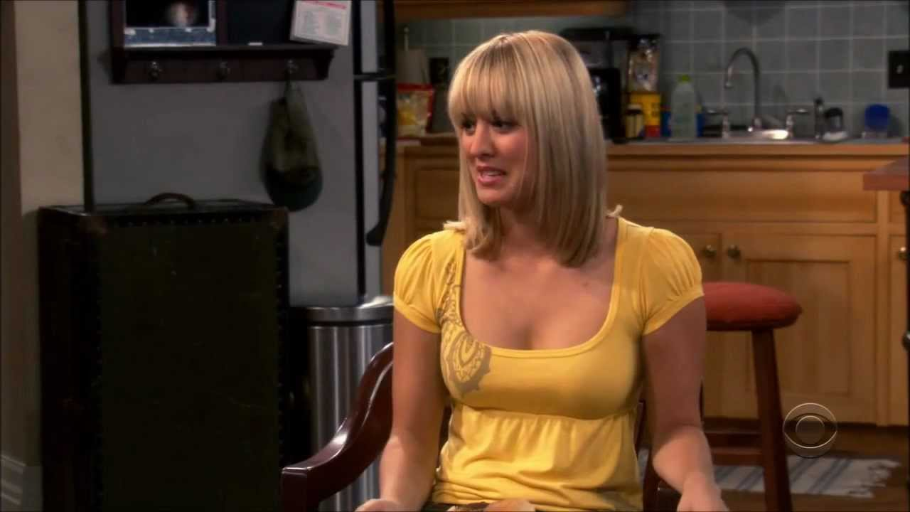 Wood fuq Kaley cuoco big tits
