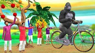 साइकिल चोर Hindi Moral Kahaniya - Bedtime Stories - Hindi Fairy Tales - Panchatantra Comedy Stories