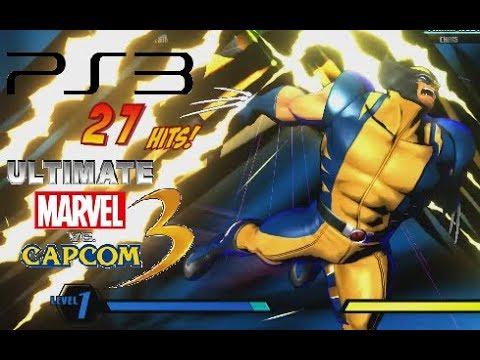 Ultimate Marvel Vs. Capcom 3 Playthrough (PS3)