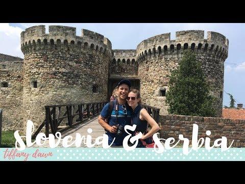 SLOVENIA + POSTOJNA CAVE + SERBIA | Europe Vlog 2017 (Part 5/6)