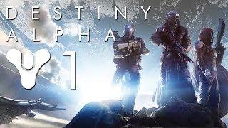 Thumbnail für das Destiny Alpha Let's Play