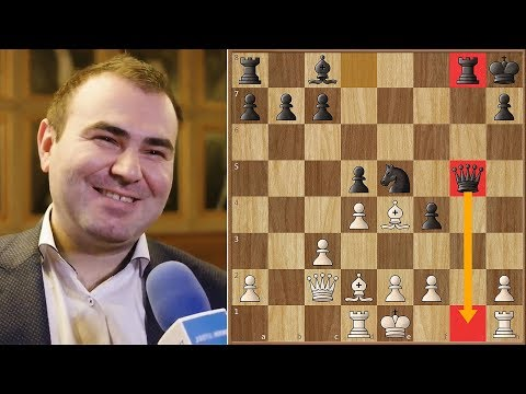 Even The Reigning Russian Champion Can Blunder | Tata Steel 2018. | Round 10