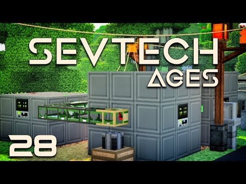 SevTech: Ages EP28 Steping Into Age 4 + Modular Machinery Plastic