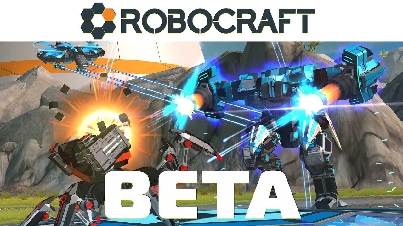 ROBOCRAFT BETA Launch Trailer - YouTube