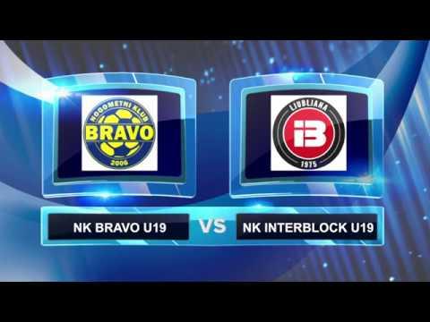 vrhunci tekme finala pokala MNZ Ljubljana U19: NK Bravo - NK Interblock, april 2017