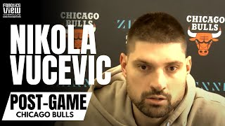 Nikola Vucevic Reacts to Zach LaVine Going Off for 50 Points: \