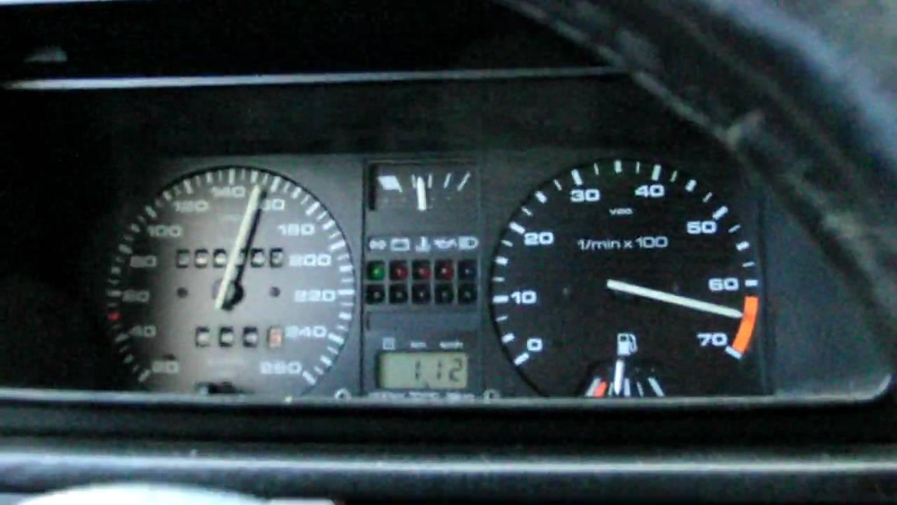 Volkswagen Golf R >> Golf 2 G60 mit ca. 230 PS Tacho von 0-170 Km/h - YouTube