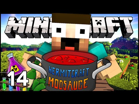 Hermitcraft ModSauce - Ep.14 : Twilight Forest Expedition!