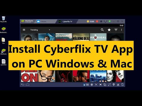 Cyberflix TV for PC/Laptop (Windows 7/8/10 & Mac) Free Download