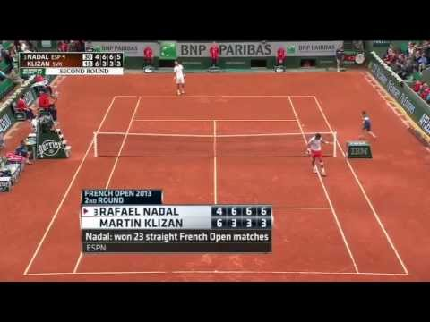 Nadal Survives Klizan