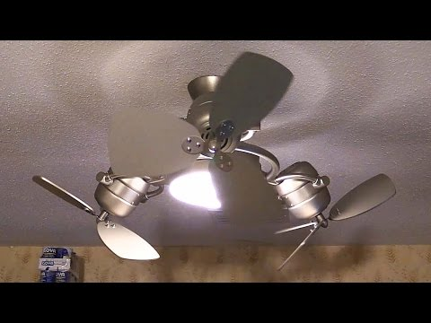 Troposair Tristar Ceiling Fan Un Boxing And Spin Youtube