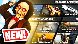 the NEW WARZONE UPDATE is INSANE! 😱 (HALLOWEEN EVENT!)