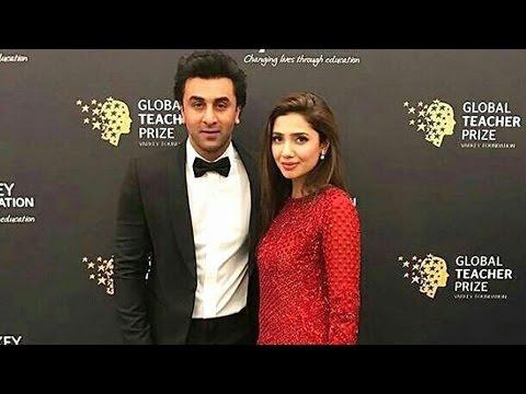 Raees Actress Mahira Khan & Ranbir Kapoor Attends Global Teachers Prize Ceremony