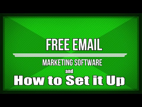 free email marketing software how to set up listwire