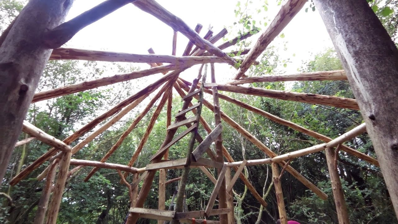 Reciprocal Roof Frame Building   Frameswalls org