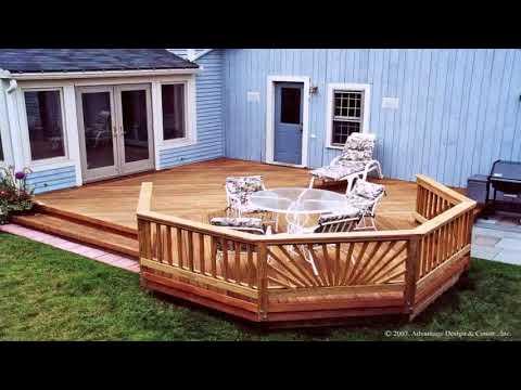 How To Build A Patio Deck Over Concrete