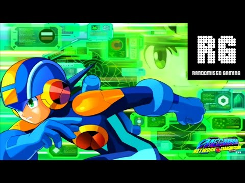Megaman Network Transmission - Gamecube - Intro, Gameplay & Fireman Fight [720p 60fps]