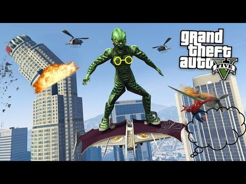Green Goblin Kẻ Thù Của SpiderMan Xuất Hiện Khiêu Khích Police Và Quân Đội