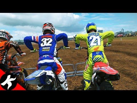 Mxgp2 Ma Premiere Vraie Course De Motocross Youtube